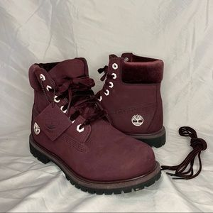 Velvet Timberland Boots